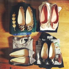 Packing for the Weekend - pick out exact outfits with shoes, accessories, and jewelry - smart