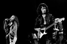 Ronnie James Dio (R.I.P.) and Ritchie Blackmore in Rainbow
