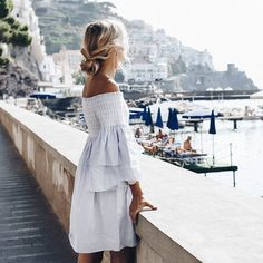 "5,357 Likes, 147 Comments - F r e d r i k a (@fakander) on Instagram: ""Memories of Amalfi Shot by @katie.fergus for @forevernew_official #fakandertravels"""