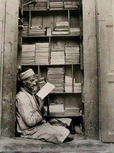 A bookseller, Cairo
