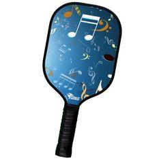 Custom Pickleball Paddle Musical Love Design (RSC Aluminum Core Series)