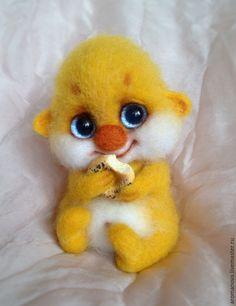 Купить ЩАСТЬЕ ЕСТ!;) (дом нашло;) - желтый, солнечный, одуванчик, счастье, счастливый, домовенок, домовой