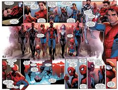 The spider-army assembles in Amazing Spider-Man #11 (vol. 3)