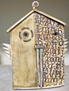 Barbara Chadwick little art house, ceramic