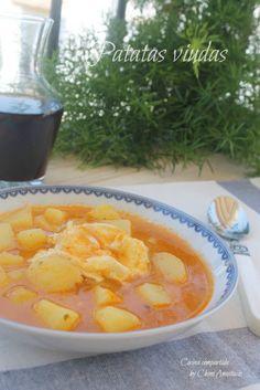 Cocina compartida: PATATAS VIUDAS (Cocinado tradicional y en Robochef)