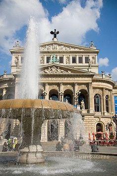 The Opera House - Frankfurt Germany