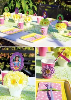 fairy tablescape