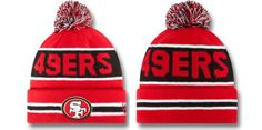 NFL San Francisco 49ers Beanies (8) , for sale  $5.9 - www.hatsmalls.com