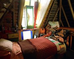 Ron's room at the Burrow