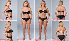 JILLY JOHNSON shows how sneaky tricks can transform body Crepey cleavage, cellulite thighs, a jiggly mum-tum. For while I may be a former lingerie model, at 62 years old I'm not immune to the ravages of time, writes Jilly Johnson. Best Self Tanner, Diy Self Tanner, Pose, Short Torso, Cool Sculpting, Body Makeup, Leg Makeup, Bikini Ready, Tummy Tucks