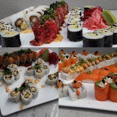 Such amazing sushi! Sushi, My Photos, Table Decorations, Amazing, Instagram Posts, Dinner Table Decorations, Sushi Rolls