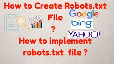 what is sitemap xml and robots txt and how to use it hindi seo