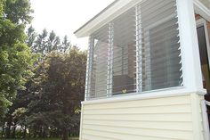 Jalousy windows for porch