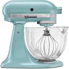 Artisan Designer Series Stand Mixer in Azure Blue