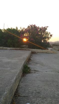 Sunset in Pembroke