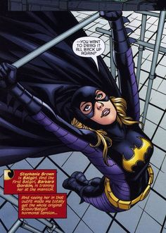 Batgirl. Stephanie Brown