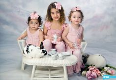 Real Housewives of New Jersey -  Teresa's little terrors (at least Milania); Gia, Gabriella, Milania & Audriana.