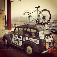 The Bianchi mobile!