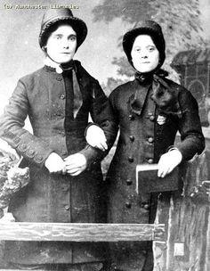 Women in Salvation Army uniform,1886 Manchester England