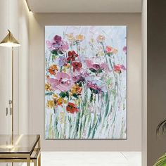 Flower Abstract Painting, Heavy Texture Painting, Bedroom Canvas Paint – Paintingforhome Large Abstract Wall Art, Abstract Landscape Painting, Abstract Canvas, Canvas Wall Art, Floral Wall Art, Oil Painting Texture, Hand Painting Art, Oil Painting Flowers, Texture Art