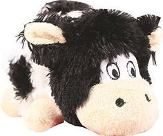Kong Company RC31 Barnyard Cruncheez Cow Dog Toy BlackWhite Small >>> Be sure to check out this awesome product.