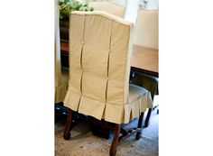 Awesome Slipcover! Creative Touch Interiors.