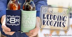 To Have and To Hold, Wedding Can Coolers, TotallyWeddingKoozies.com