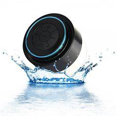 100% Waterproof Floating Bluetooth Shower Speaker With Built In Mircophone