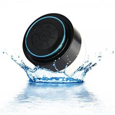 100% Waterproof Floating Bluetooth Shower Speaker With Built In Mircophone