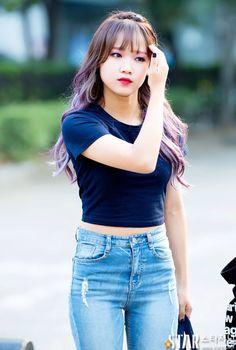 The beautiful Choi Yoojung! My Weki Meki, former I.O.I bias and now my Ultimate Kpop bias. Kpop Girl Groups, Korean Girl Groups, Kpop Girls, Ioi Doyeon, Girl Day, My Girl, K Pop, Kim Chungha, Choi Yoojung