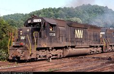 RailPictures.Net Photo: NW 1728 Norfolk & Western EMD SD45 at Williamson, West Virginia by G. R. Harper
