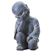 Buddha Child on Elephant Statue | Wayfair
