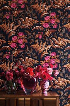 Rose Wallpaper by Cole   Son - Botanical Botanica Collection 5cb383972c