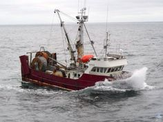 """Tenacious: Photo courtesy of Fred Anhorn who sys, """"A great name for fishing boat."""" Built 1980 by Allied"""
