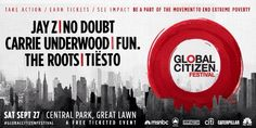 Global Citizen . New York . Central Park Sept 27th 2014