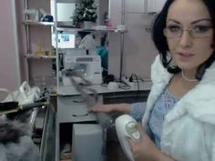 МК Делаем меховую пряжу своими руками - YouTube