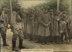 WWI French prisoners in Germany.