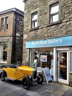 Classic Car . Lerwick . Shetland