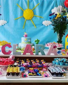 Letras 3d - Cumpleaños - Candy Bar - $ 35,00 en MercadoLibre