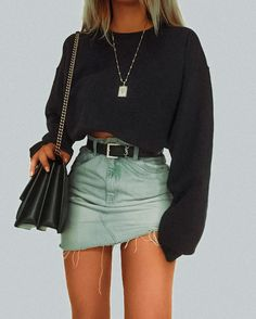 comment for credit Teen Fashion Outfits, Look Fashion, Stylish Outfits, Fall Outfits, Summer Outfits, Classy Fashion, Party Fashion, Fashion Dresses, Fashion For Teens