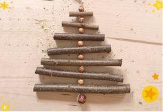 DIY: Ast-Weihnachtsbäume basteln, für alle, die in der Weihnachtszeit gern kreativ sind, haben wir uns kindgerechte Bastelideen ausgedacht: Die Ast-Weihnachtsbäume sind ein toller Blickfang am Fenster.