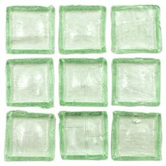 Ashland-e Palmetto 12 x 12 Inch Kitchen & Bathroom Eco Recycled Green Glass Tile (10 Sq. Ft./Case) - $129.95