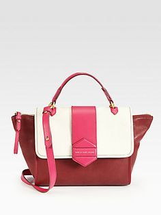 Marc by Marc Jacobs Flipping Out Colorblock Top Handle Bag
