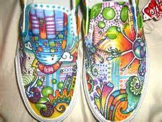 Sharpie Shoe Art - Bing Images