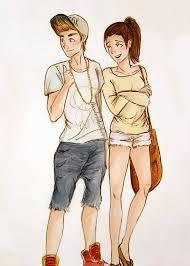 Resultado de imagem para desenhos de namorados tumblr para desenhar