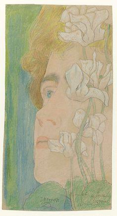 Marguérite, Jan Toorop, 1868 - 1928
