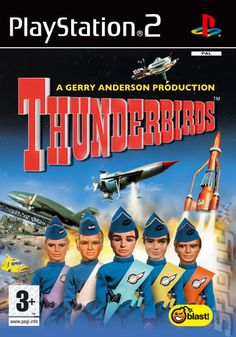 Playstation 2 game - Thunderbirds -- shoddy cash in with little entertainment involved - graphics are worse than the Captain Scarlet game Playstation 2, Covered Boxes, Box Art, Final Fantasy, Art Images, Saga, Thing 1, Entertaining, Movie Posters