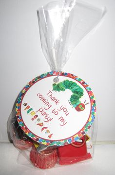 Printable A Very Hungry Caterpillar Party Favor Tags. $5.00, via Etsy.