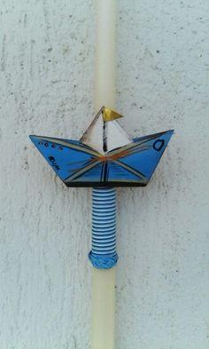 DIY Greek Easter candle (lambada)