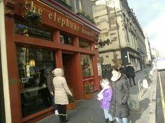 """The Elephant House"" donde J.K Rowling imaginó las aventuras de Harry Potter. Edimburgo - Escocia. #Edinburgh"
